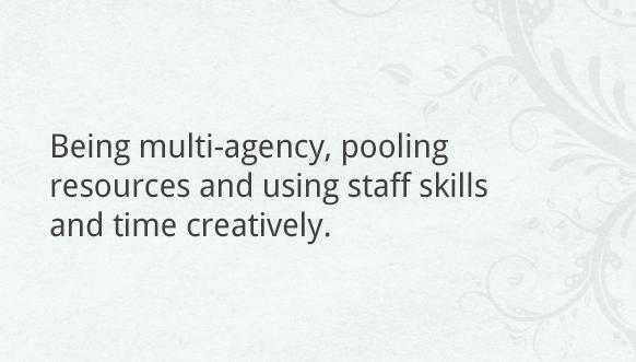 Being multi-agency
